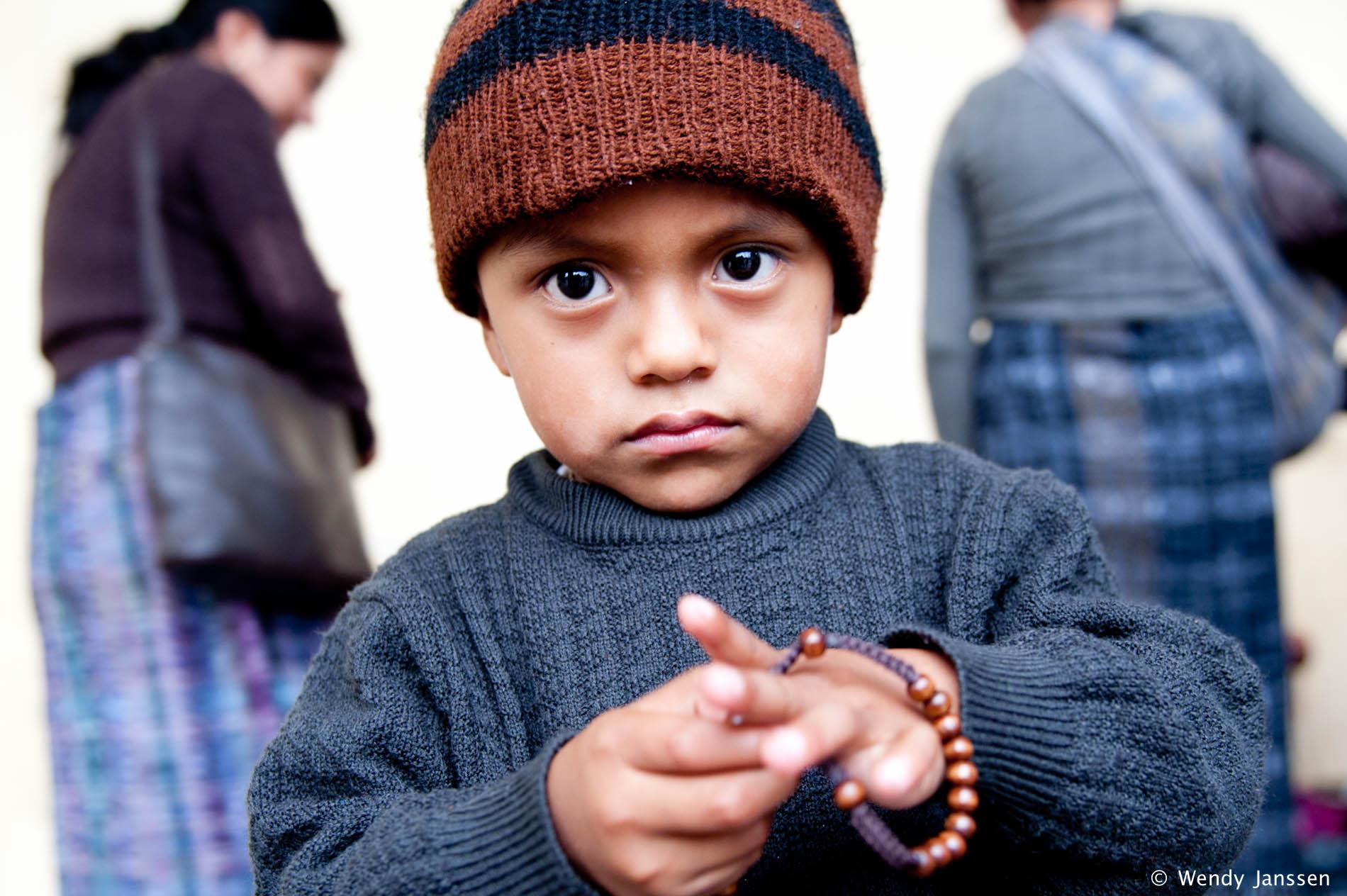 Portrait - Guatemalan boy